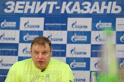 25.05.2018  Владимир Алекно встретился с журналистами (Ильнар Тухбатов)