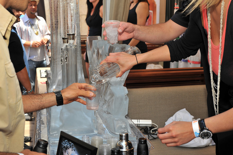 "Free Download of Photos for personal use only with the photo credit ""Mark Bowers Photography for www.ISVodka.com"" Move your cursor to right of photo and click Save. This was the 1st San Diego Spirits Festival held at SE Hotel in downtown San Diego. ISVodka was glad to be a sponsor and provided Ice sculptures and Ice Angels Taya and Destiny. Enjoy the photos and please leave comments in box below. Mark Bowers Photography for ISVodka is vodka."