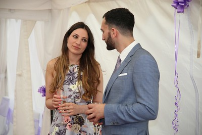 George & Mia's engagement
