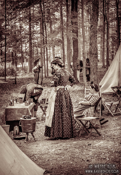 Women of the Camp   Photography by Wayne Heim