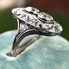 1.75ctw Edwardian Toi et Moi Old European Cut Diamond Ring  14
