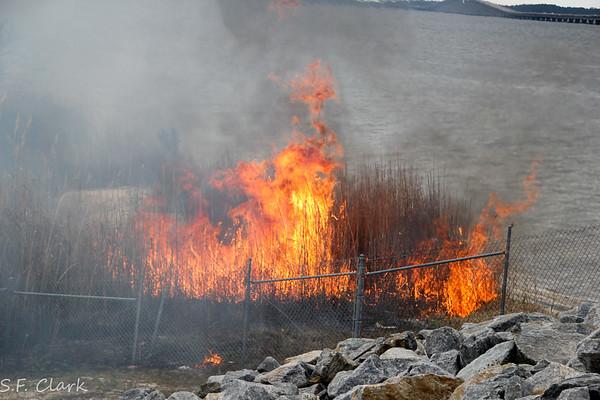 03/14/2017 Garcon Point Controlled Burn.