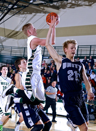 Zeeland West vs Unity Christian Boys Basketball