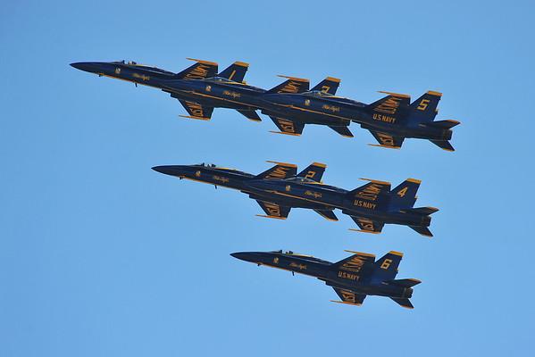 Blue Angels at Miramar Air Show, 10-2-11