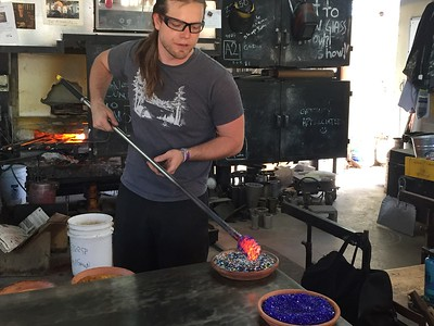 Glass Blowing 2017