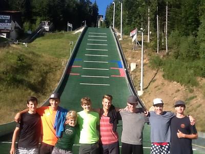 Europe Summer 2015 Logan Oxford & Comp NC Team