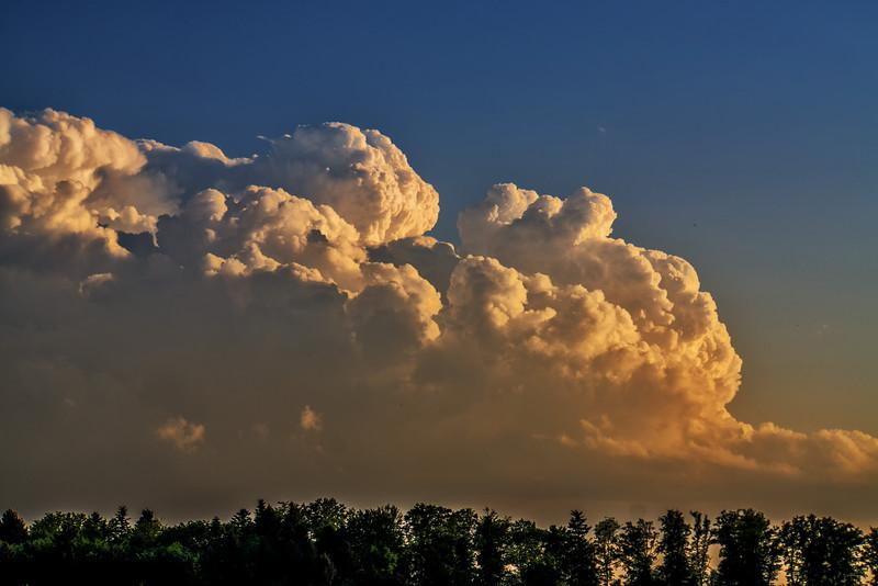 Quellende Cumuli | Towering cumuli