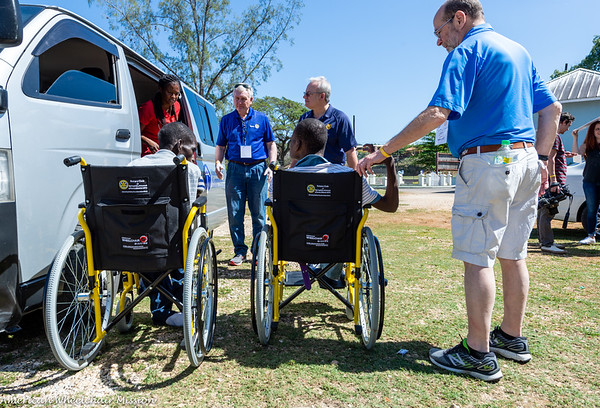 2020 Rotary District 6110 Jamaica Wheelchair Distribution