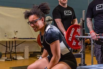 Womens British Powerlifting 7th March 2020 PM Group B