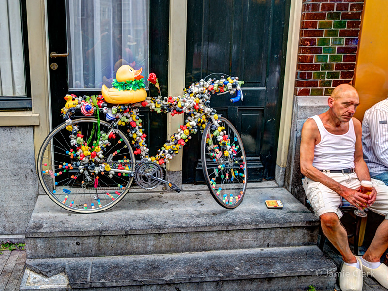 Where does the butt go? Amsterdam - July 2014