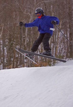 Skiing, Maine and Utah, 2004-2005