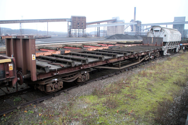 BMA 950122 Scunthorpe Trent Yard stored 24/11/12.