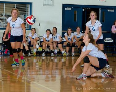 High School Volleyball Sept 2014