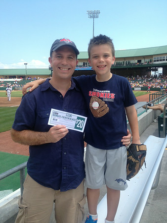 June 15 - Smokies Baseball Game on Father's Day