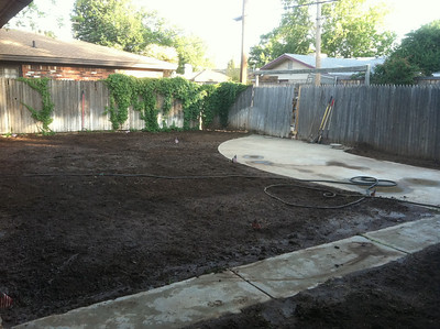 Our back Yard Transformation