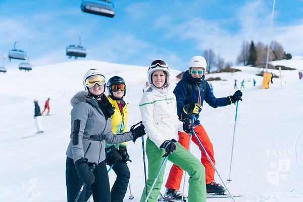 High School Ski Adventure in Crans Montana