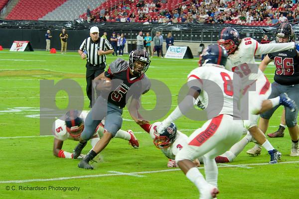 D1 Football State Finals Desert Ridge VS Centennial