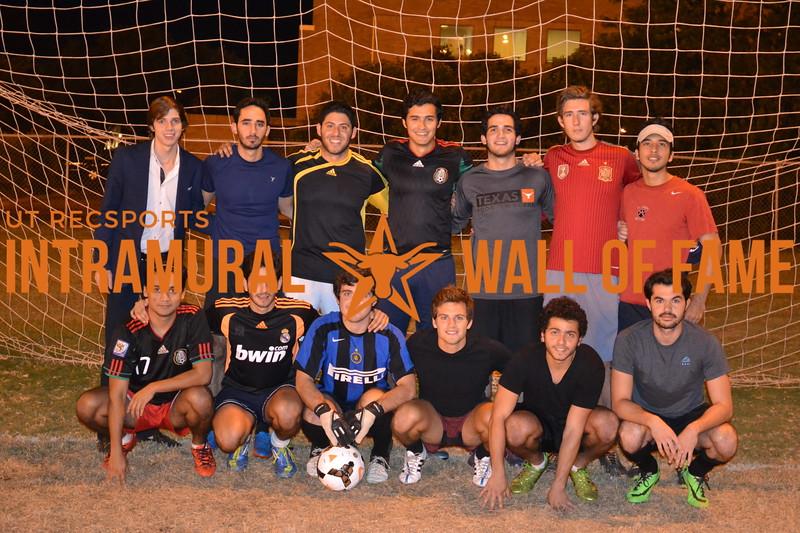 Fall 2015 Soccer Men's A Champion SJA Valley Veterans