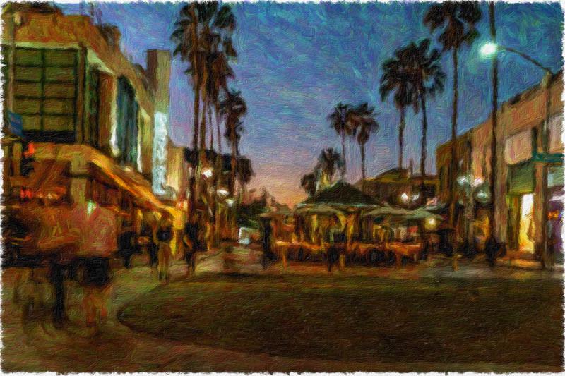 October 30 - Sunset in Santa Monica.jpg