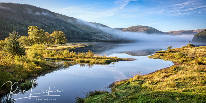 Morning Mist over St. Mary's Loch