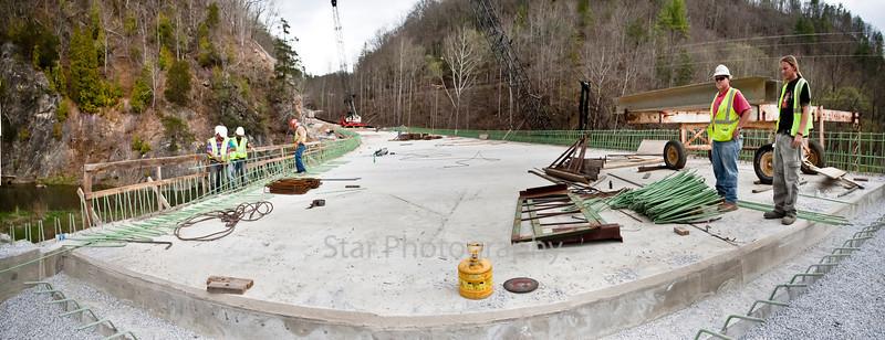 Elk Mills Bridge Progress 03-23-12