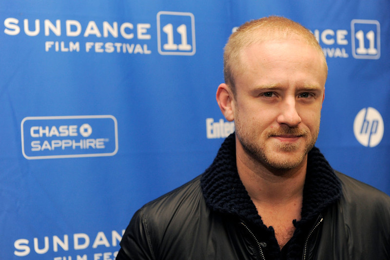 ". Ben Foster, a cast member in the film ""Here,\"" poses at the premiere of the film at the 2011 Sundance Film Festival in Park City, Utah, Friday, Jan. 21, 2011. (AP Photo/Chris Pizzello)"