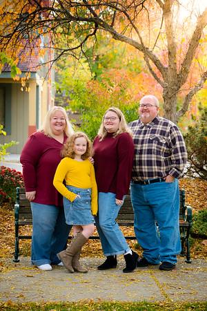 Meloche Family Fall 2020