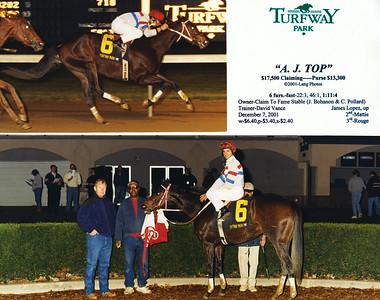 A. J. TOP - 12/07/2001