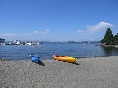 Day kayak on Lake Washington