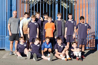 U14 Boys at Glasgow Rangers