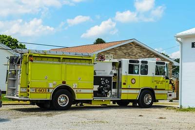 05-28-15 West Lafayette FD Garage Fire