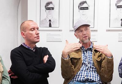 Artist talk. Eesti Portreeavangard.