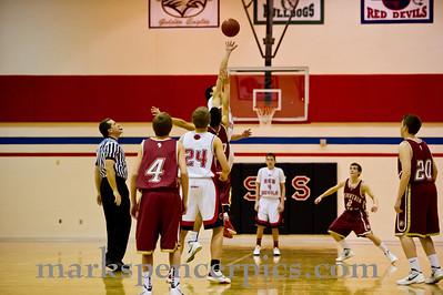 Basketball Soph SHS vs MtView 1-27-2012
