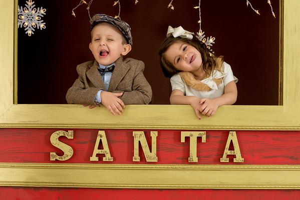 SANTA EXPRESS HOLIDAY PORTRAITS 2016