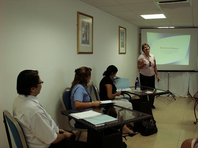 Business Protocol and Etiquette, Oct 2009