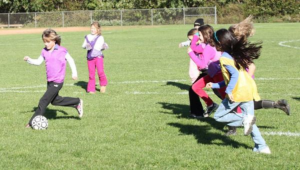 Nottingham Soccer Game - October 2009