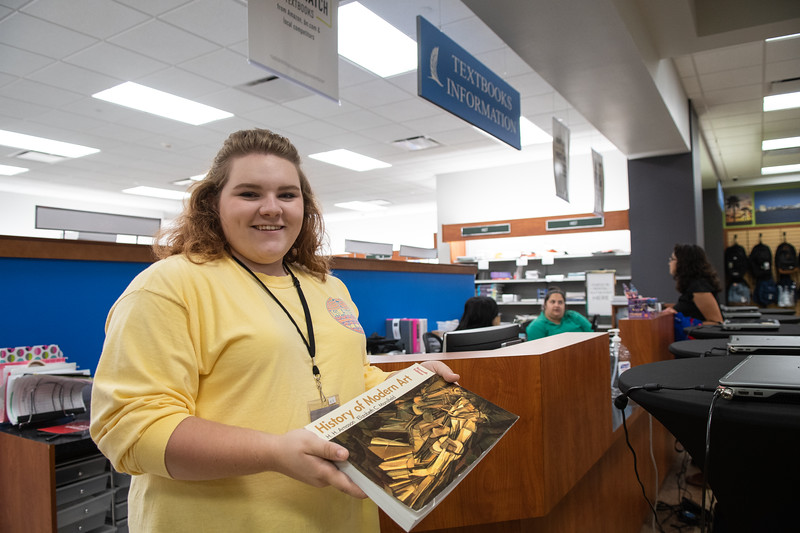 Abigail Vegkley is ready to help you find the right textbooks for your summer classes at the University Center's Barnes & Noble Bookstore.  You can also find textbooks, apparel, supplies, and more online: http://bit.ly/2MqOGu9