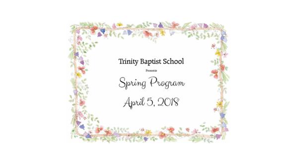 TBS Spring Program 2018