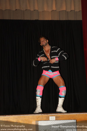 ICW 9/29/12 - Robbie E vs Mike Bennett with Maria