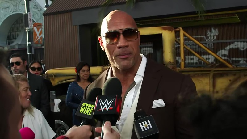 "The Rock praises Roman Reigns at ""Hobbs & Shaw"" premiere WWE.mp4"