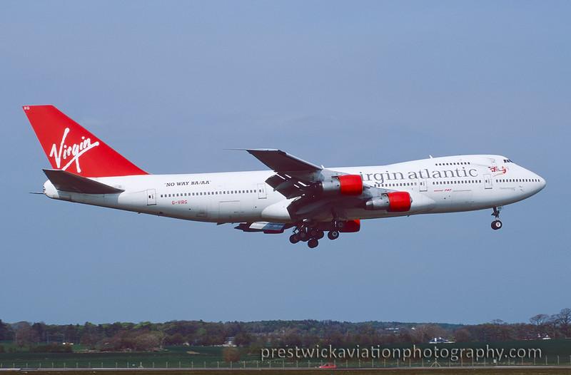 G-VIRG Boeing 747-287B Virgin Atlantic4 Prestwick May 2000 .jpg