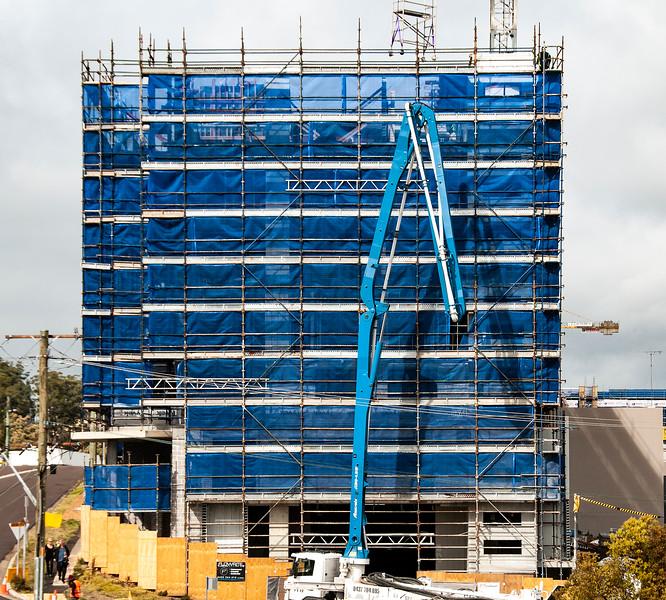 Building progress 128. At 47 Beane St. Gosford. September 2018.