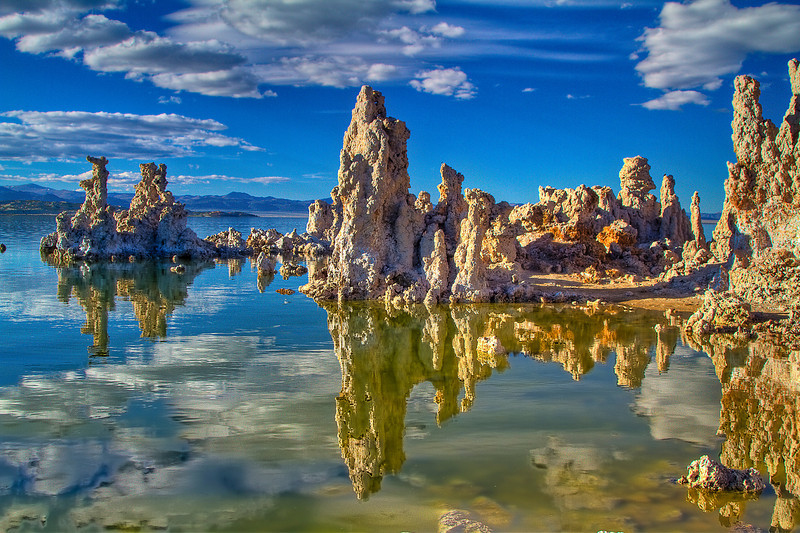 Reflections of Tufa Mono Lake