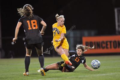 28642 WVU Women's Soccer Princeton November 2012