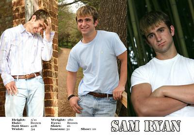 Sam Ryan MODEL