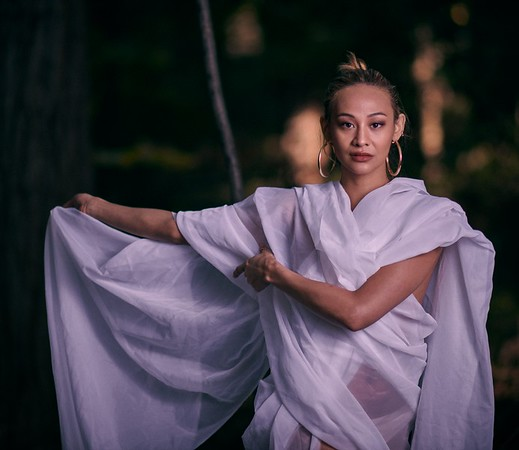 Tiffany Wong in the Woods