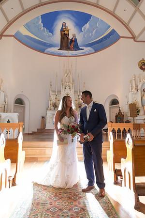 Mackinac Island St. Anne Church Petoskey Bear Creek Livery Wedding Photography