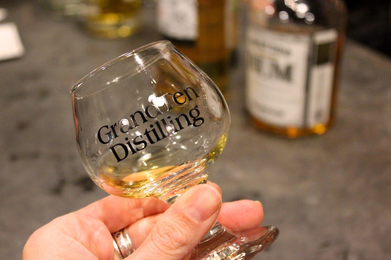 tasting at GrandTen Distilling, a small batch distillery in Boston, Massachusetts