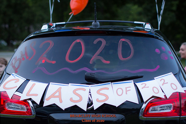 Briarcliff Class of 2020 Drive In Graduation