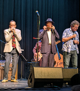 Mark Hummel's Blues Harmonica Blowout at Folsom Harris Center